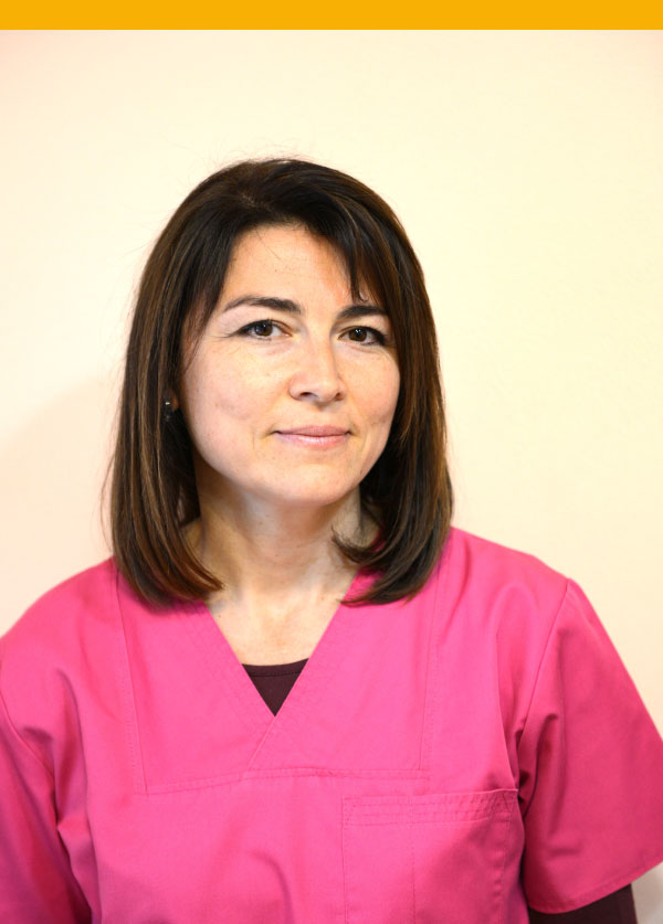 Dott.ssa Daciana Tepela Staff